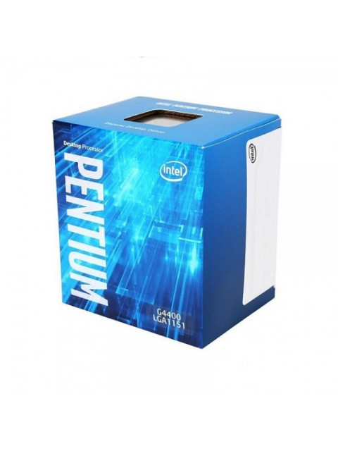 INTEL PROCESSOR PENTIUM DUAL CORE G4400 (INTEL 6TH GEN, LGA1151 SOCKET, 3M CACHE, UP TO 3.30 GHZ)