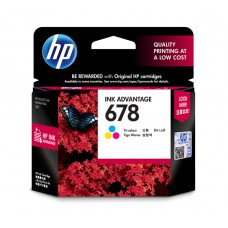 HP 678 Tri-color Ink Cartridge (HP Part Code: CZ108AA)