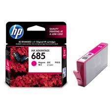 HP 685 Magenta Ink Cartridge (HP Part Code: CZ123AA)
