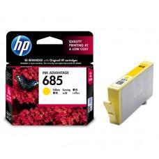 HP 685 Yellow Ink Cartridge (HP Part Code: CZ124AA)